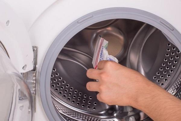 ماده ضد رسوب ماشین لباسشویی